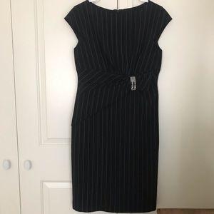 Anne Klein Pinstripe Dress